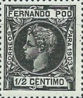 [King Alfonso XIII - Control Numbers on Back Side, type AG1]