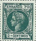 [King Alfonso XIII - Control Numbers on Back Side, type AG3]