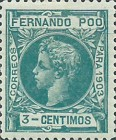 [King Alfonso XIII - Control Numbers on Back Side, type AG4]