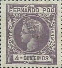 [King Alfonso XIII - Control Numbers on Back Side, type AG5]