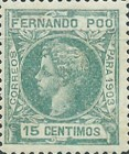 [King Alfonso XIII - Control Numbers on Back Side, type AG8]
