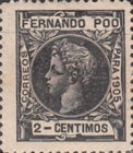 [King Alfonso XIII - Control Numbers on Back Side, type AH1]