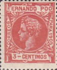 [King Alfonso XIII - Control Numbers on Back Side, type AH2]
