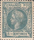 [King Alfonso XIII - Control Numbers on Back Side, type AH4]