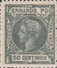 [King Alfonso XIII - Control Numbers on Back Side, type AH8]