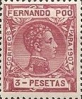 [King Alfonso XIII - Blue Control Number on Back Side, type AI12]