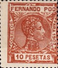 [King Alfonso XIII - Blue Control Number on Back Side, type AI15]