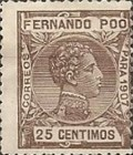 [King Alfonso XIII - Blue Control Number on Back Side, type AI7]
