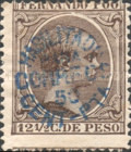 [Issues of 1894/1897 Handstamped, type G5]