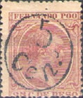[Issues of 1894/1897 Handstamp Surcharged, type H9]