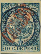 [Revenue Stamp with Inscription