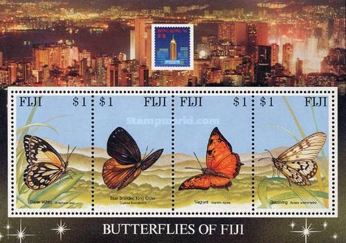 """[International Stamp Exhibition """"Hong Kong '94"""" - Issues of 1993 Overprinted """"HONG KONG '94 and emblem on each stamp"""", type ]"""