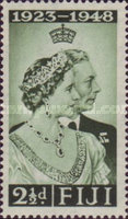 [The 25th Anniversary of the Wedding of King George VI, type AB]