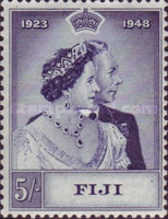[The 25th Anniversary of the Wedding of King George VI, type AC]