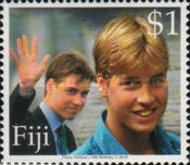 [The 18th Anniversary of the Birth of Prince William, type AFF]
