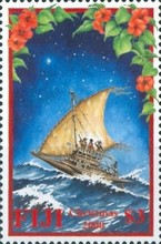 [Christmas- Journey of the Three Kings in Fijian Setting, type AGB]