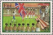 [The 125th Anniversary of the Colonial Mutual Life Assurance Limited in Fiji, type AHL]
