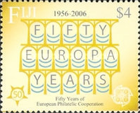[The 50th Anniversary of the First EUROPA Stamp, type AMC]