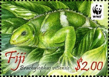 [WWF - Crested Iguana of Fiji, type ASW]