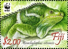 [WWF - Crested Iguana of Fiji, type ASX]