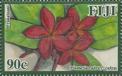 [Frangipani Flowers of Fiji, type ATK]