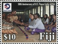 [The 50th Anniversary of U.S. Peace Corps in Fiji, type AYW]