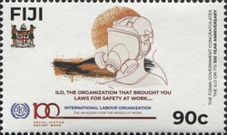 [The 100th Anniversary of the ILO - International Labour Organization, type AZP]
