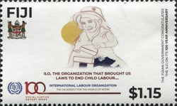 [The 100th Anniversary of the ILO - International Labour Organization, type AZQ]