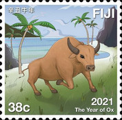 [Chinese New Year - Year of the Ox, type BAK]