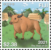 [Chinese New Year - Year of the Ox, type BAL]