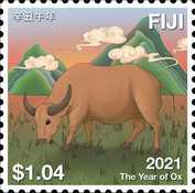 [Chinese New Year - Year of the Ox, type BAN]