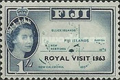 [Royal Visit - Overprinted