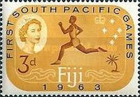 [The 1st Anniversary of the South Pacific Games - Suva, Fiji, type CG]
