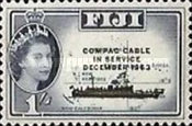 [Opening of COMPAC (Trans-Pacific Telephone Cable) - Issue of 1954 Overprinted