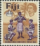 [The 50th Anniversary of the Fijian Scout Movement, type CN]