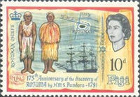 [The 175th Anniversary of the Discovery of Rotuma, type CW]