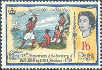[The 175th Anniversary of the Discovery of Rotuma, type CX]