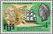 [The 150th Anniversary of the Death of Admiral Bligh, 1754-1817, type DG]