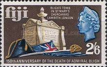 [The 150th Anniversary of the Death of Admiral Bligh, 1754-1817, type DI]