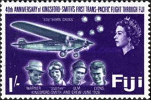 [The 40th Anniversary of Kingsford Smith's Pacific Flight via Fiji, type DL]
