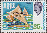 [Royal Visit - Issues of 1969 Overprinted