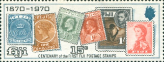 [The 100th Anniversary of the Fiji Stamps, type FX]