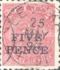 [Issues of 1880 & 1890 Surcharged, type I1]