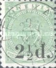 [Issues of 1879 & Not Issued Stamps Surcharged, type M1]