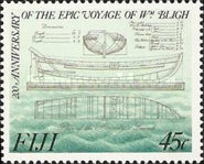 [The 200th Anniversary of the Captain Bligh's Boat Voyage, type SI]