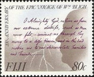 [The 200th Anniversary of the Captain Bligh's Boat Voyage, type SK]