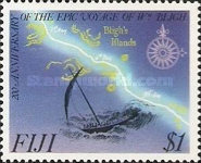 [The 200th Anniversary of the Captain Bligh's Boat Voyage, type SL]