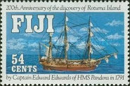 [The 200th Anniversary of the Discovery of Rotuma Island, type TU]