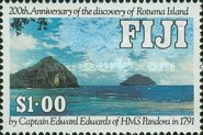 [The 200th Anniversary of the Discovery of Rotuma Island, type TX]