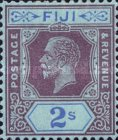 [King George V - Chalky Paper, type U11]